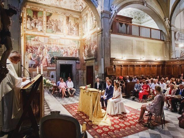Il matrimonio di Laurent e Charlotte a San Casciano in Val di Pesa, Firenze 22