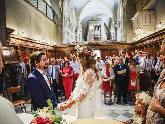 Il matrimonio di Laurent e Charlotte a San Casciano in Val di Pesa, Firenze 24