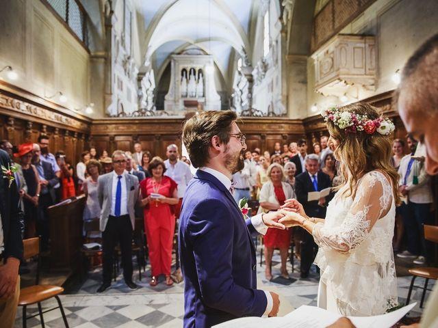 Il matrimonio di Laurent e Charlotte a San Casciano in Val di Pesa, Firenze 25