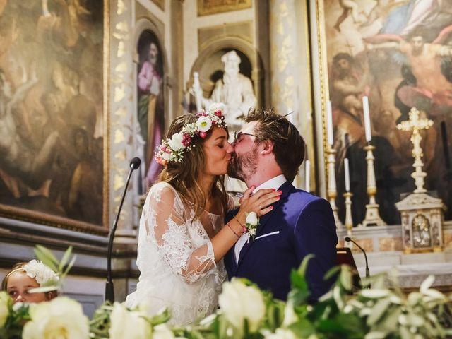 Il matrimonio di Laurent e Charlotte a San Casciano in Val di Pesa, Firenze 29