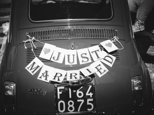 Il matrimonio di Laurent e Charlotte a San Casciano in Val di Pesa, Firenze 32