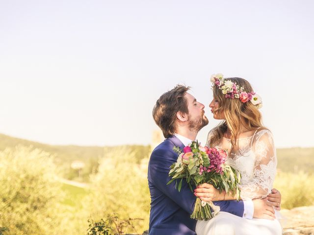 Il matrimonio di Laurent e Charlotte a San Casciano in Val di Pesa, Firenze 41