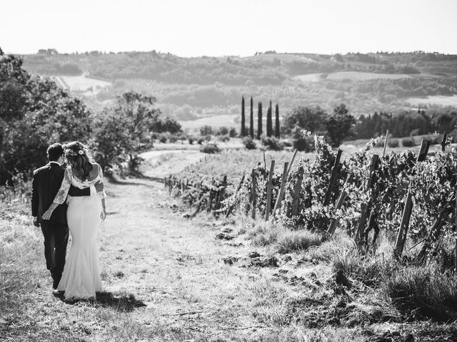 le nozze di Charlotte e Laurent