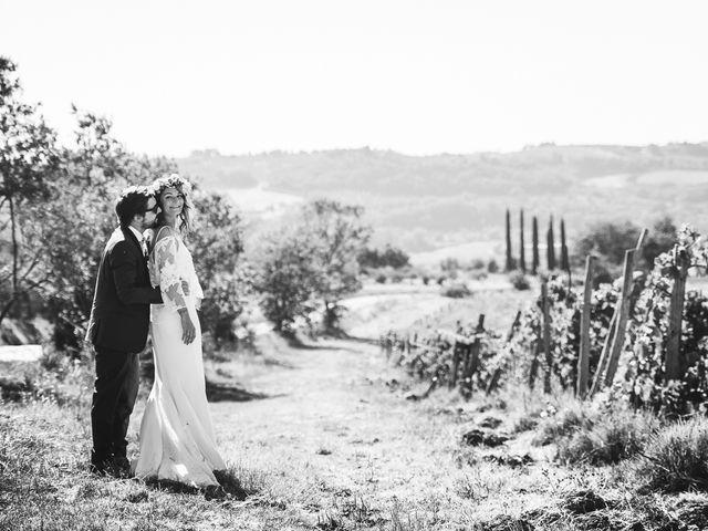 Il matrimonio di Laurent e Charlotte a San Casciano in Val di Pesa, Firenze 44
