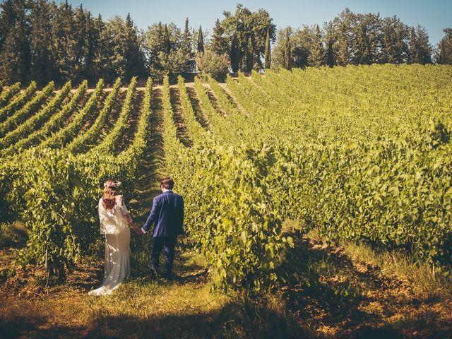 Il matrimonio di Laurent e Charlotte a San Casciano in Val di Pesa, Firenze 45