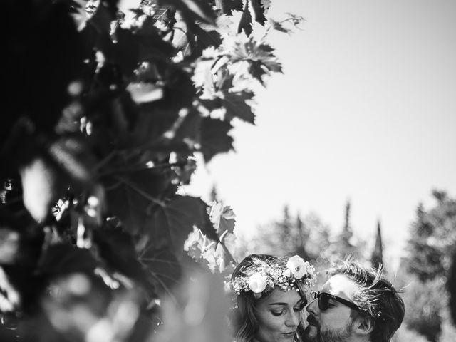 Il matrimonio di Laurent e Charlotte a San Casciano in Val di Pesa, Firenze 51