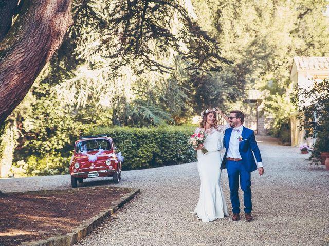 Il matrimonio di Laurent e Charlotte a San Casciano in Val di Pesa, Firenze 57