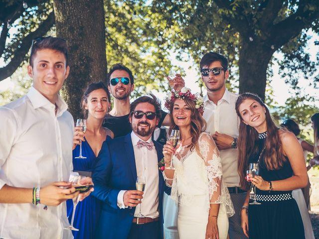 Il matrimonio di Laurent e Charlotte a San Casciano in Val di Pesa, Firenze 68