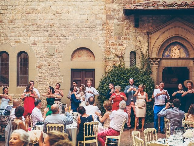 Il matrimonio di Laurent e Charlotte a San Casciano in Val di Pesa, Firenze 71