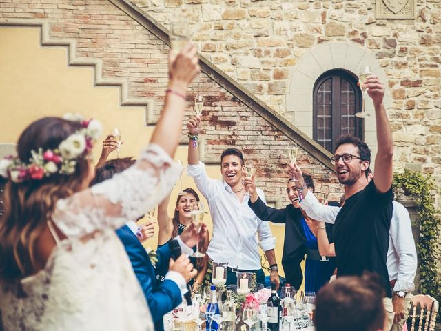 Il matrimonio di Laurent e Charlotte a San Casciano in Val di Pesa, Firenze 74