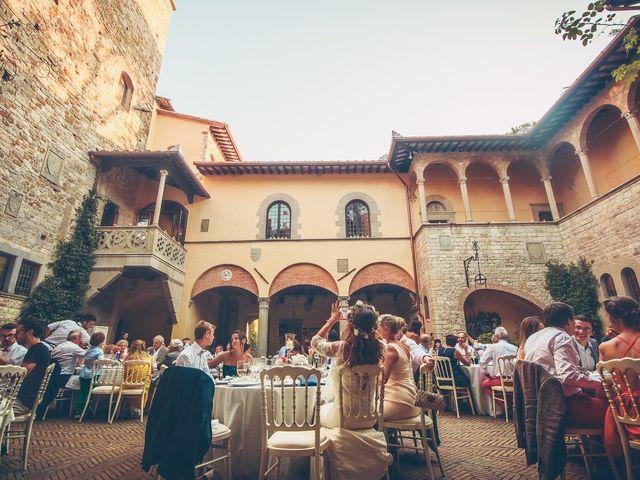Il matrimonio di Laurent e Charlotte a San Casciano in Val di Pesa, Firenze 75