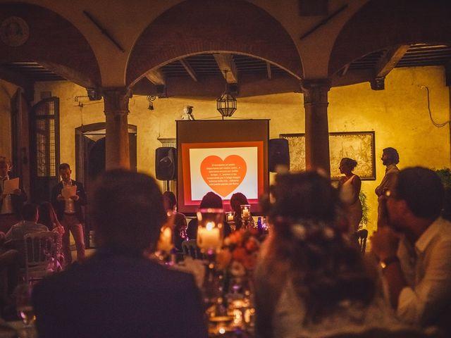 Il matrimonio di Laurent e Charlotte a San Casciano in Val di Pesa, Firenze 79