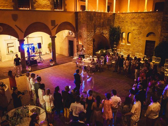 Il matrimonio di Laurent e Charlotte a San Casciano in Val di Pesa, Firenze 85