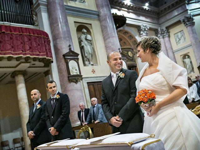 Il matrimonio di Davide e Claudia a Gorgonzola, Milano 16