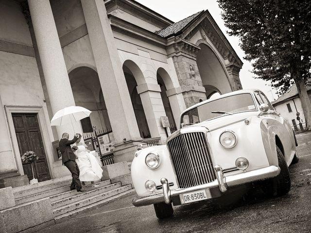 Il matrimonio di Davide e Claudia a Gorgonzola, Milano 20