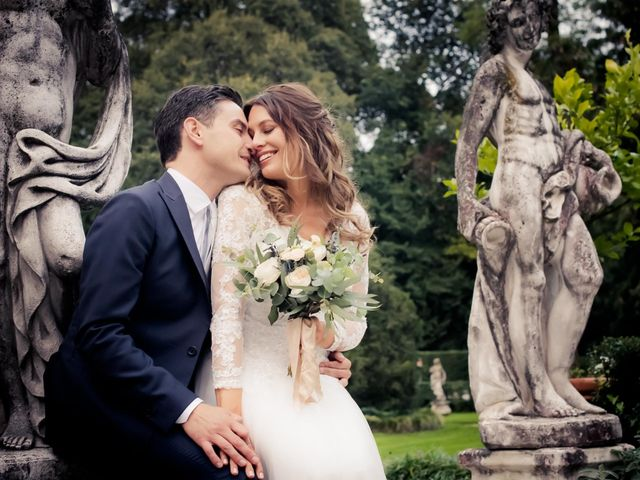 le nozze di Jenny e Alberto
