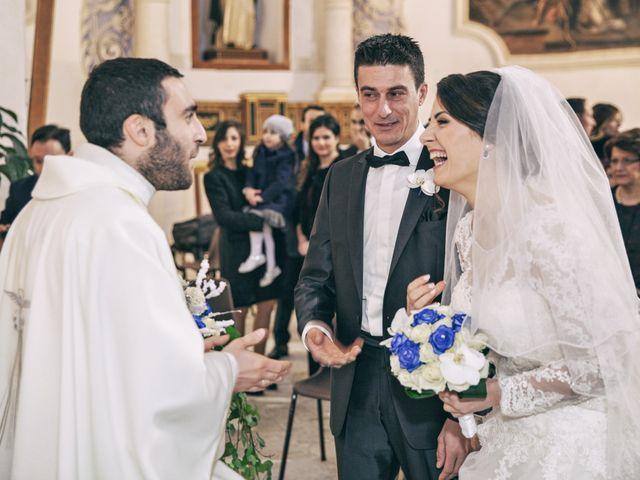 Il matrimonio di Andrea e Valentina a Pietraperzia, Enna 36