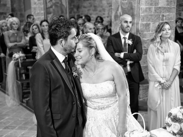 Il matrimonio di Nicola e Silvia a Spello, Perugia 33
