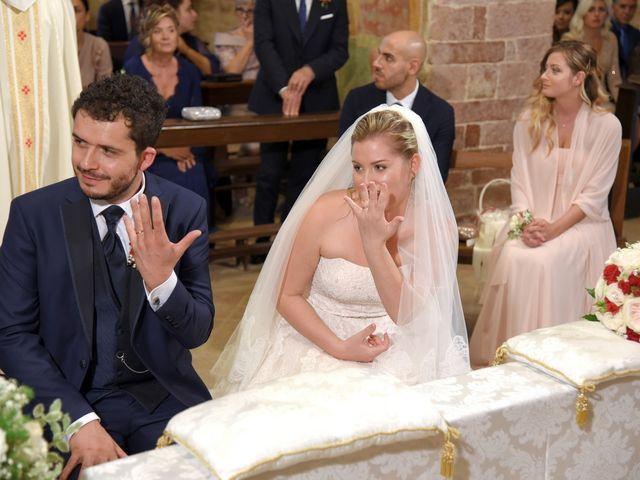 Il matrimonio di Nicola e Silvia a Spello, Perugia 34