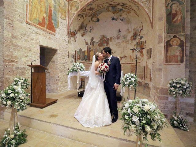 Il matrimonio di Nicola e Silvia a Spello, Perugia 35