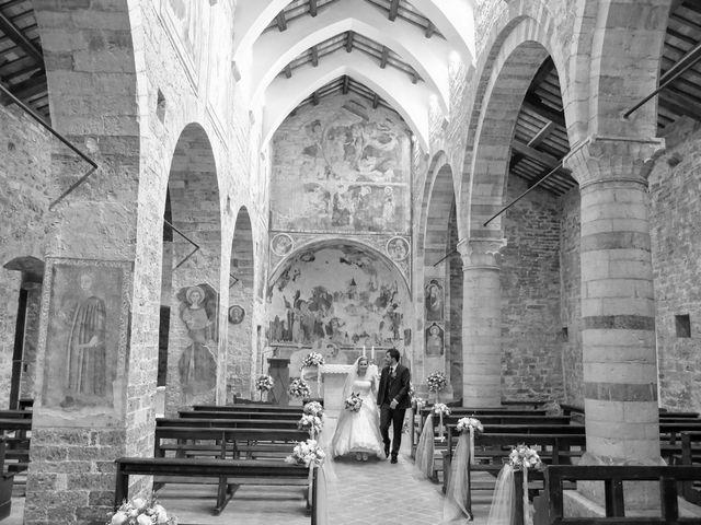 Il matrimonio di Nicola e Silvia a Spello, Perugia 36