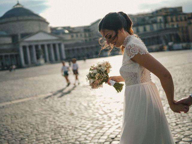 Il matrimonio di Ferdinando e Tina a Pomigliano d'Arco, Napoli 42