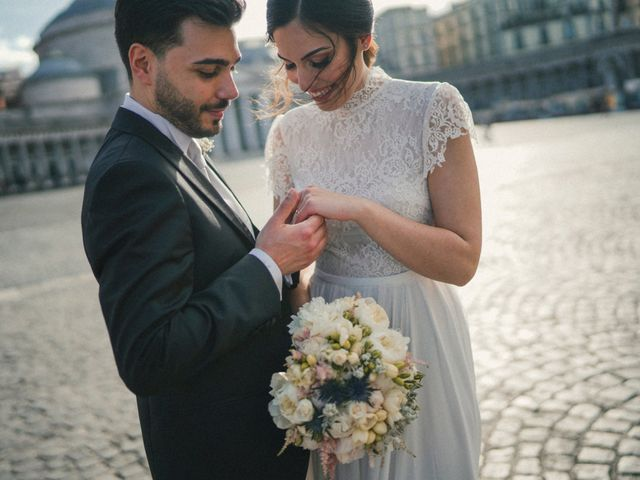 Il matrimonio di Ferdinando e Tina a Pomigliano d'Arco, Napoli 48