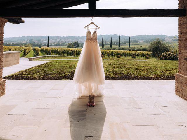Il matrimonio di Alessio e Carola a Corte Franca, Brescia 2