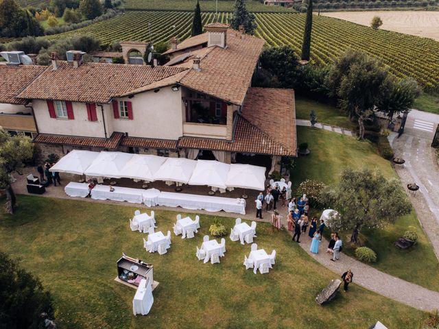 Il matrimonio di Alessio e Carola a Corte Franca, Brescia 17