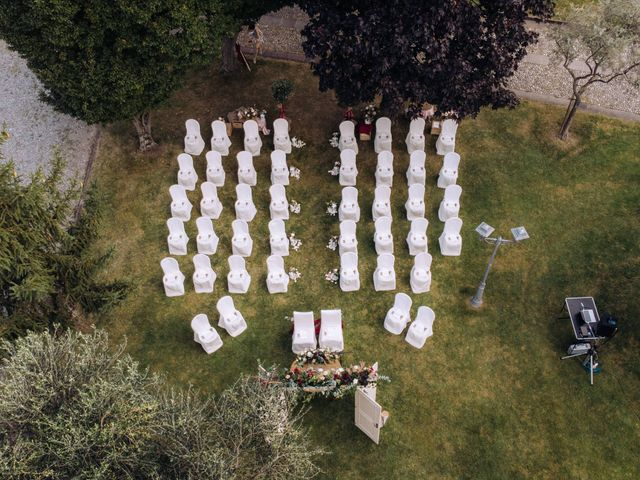 Il matrimonio di Alessio e Carola a Corte Franca, Brescia 18