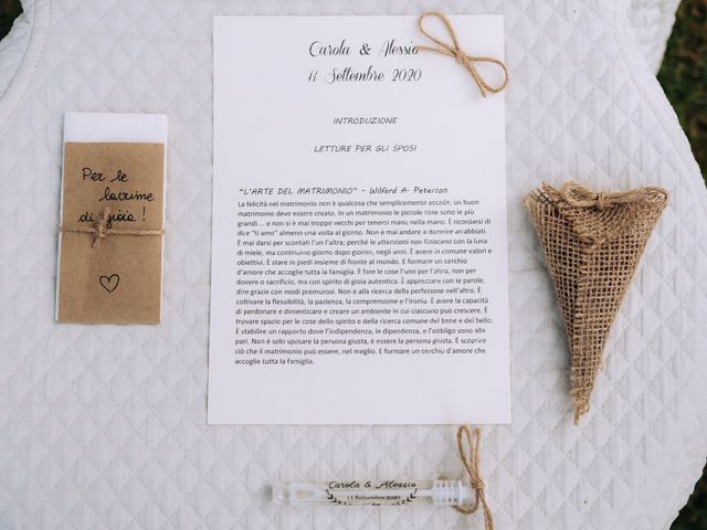 Il matrimonio di Alessio e Carola a Corte Franca, Brescia 19