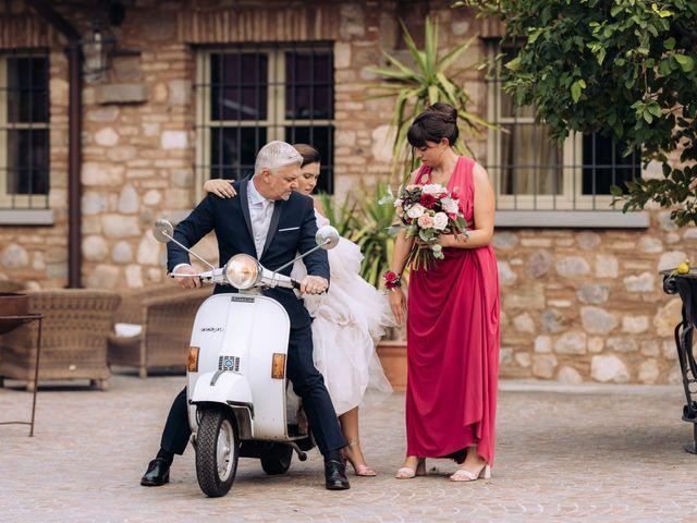 Il matrimonio di Alessio e Carola a Corte Franca, Brescia 22
