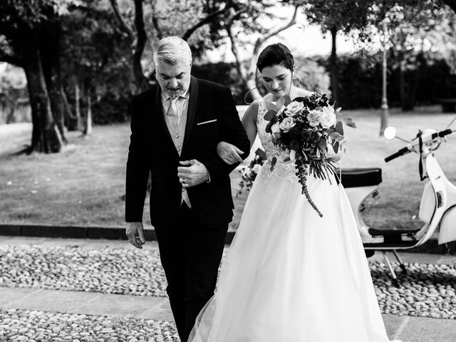 Il matrimonio di Alessio e Carola a Corte Franca, Brescia 28