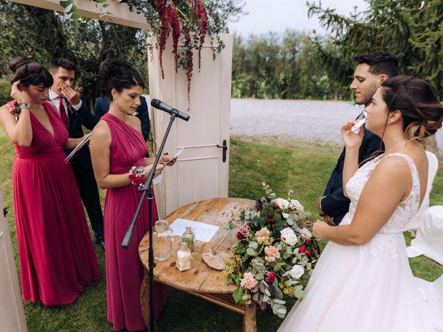 Il matrimonio di Alessio e Carola a Corte Franca, Brescia 34