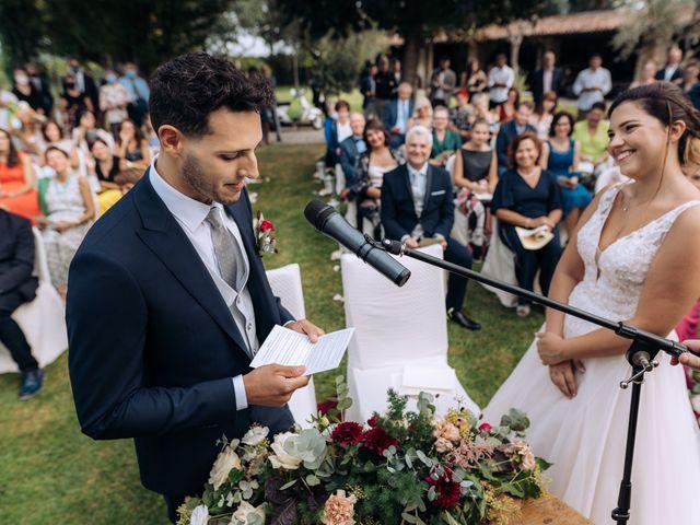 Il matrimonio di Alessio e Carola a Corte Franca, Brescia 42