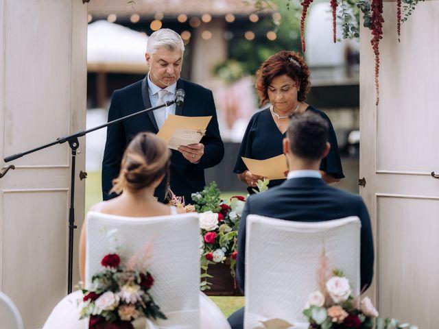 Il matrimonio di Alessio e Carola a Corte Franca, Brescia 47