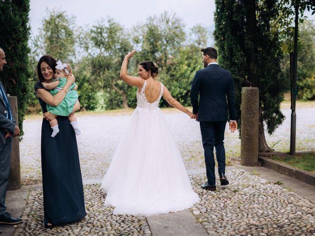 Il matrimonio di Alessio e Carola a Corte Franca, Brescia 53