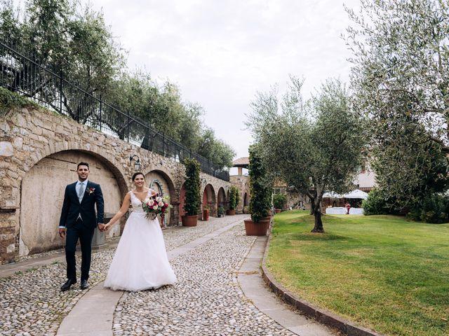 Il matrimonio di Alessio e Carola a Corte Franca, Brescia 55