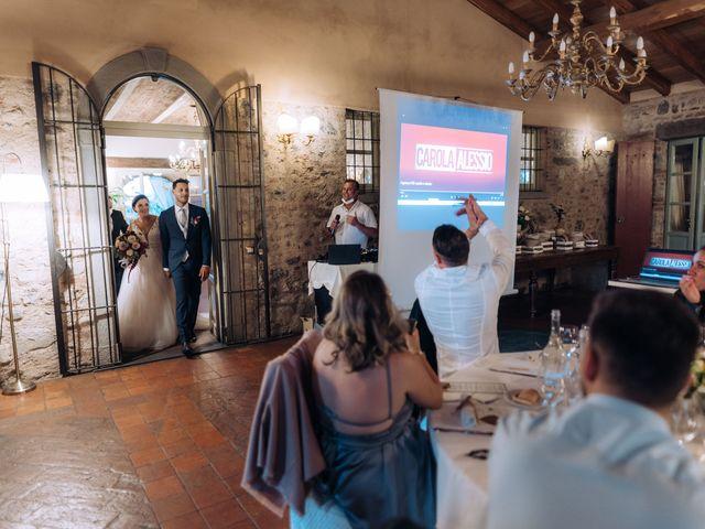 Il matrimonio di Alessio e Carola a Corte Franca, Brescia 78