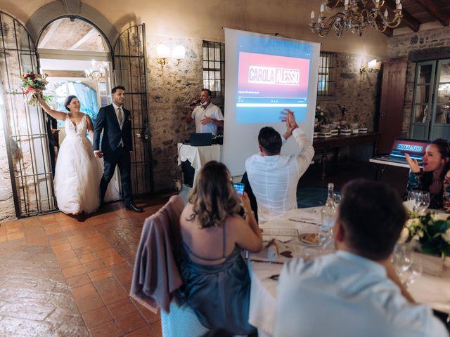 Il matrimonio di Alessio e Carola a Corte Franca, Brescia 79