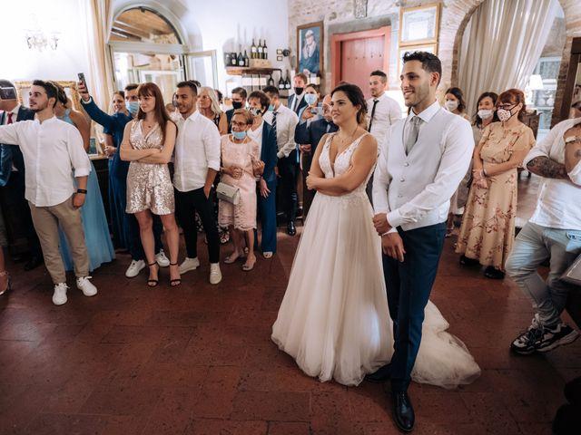 Il matrimonio di Alessio e Carola a Corte Franca, Brescia 83