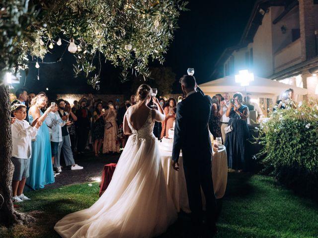 Il matrimonio di Alessio e Carola a Corte Franca, Brescia 99