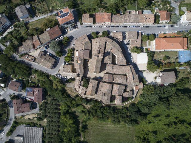 Il matrimonio di Cecilia e Eugenio a Mergo, Ancona 34