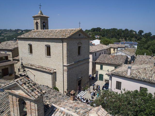 Il matrimonio di Cecilia e Eugenio a Mergo, Ancona 36