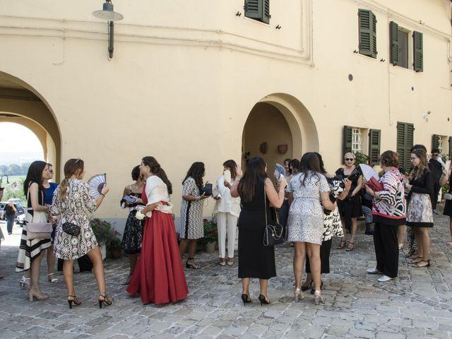 Il matrimonio di Cecilia e Eugenio a Mergo, Ancona 37