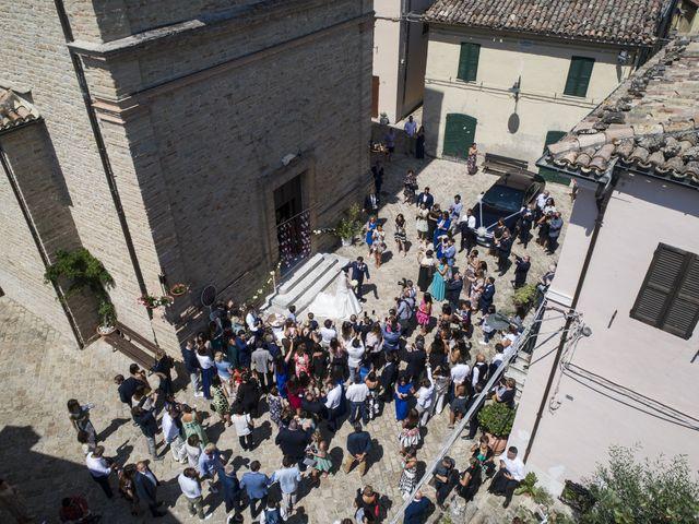 Il matrimonio di Cecilia e Eugenio a Mergo, Ancona 56