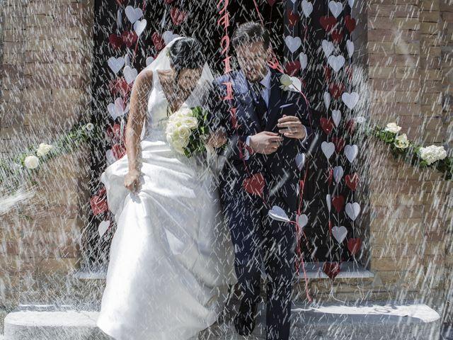 Il matrimonio di Cecilia e Eugenio a Mergo, Ancona 57