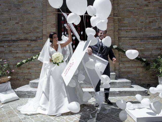 Il matrimonio di Cecilia e Eugenio a Mergo, Ancona 59