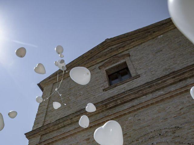 Il matrimonio di Cecilia e Eugenio a Mergo, Ancona 60