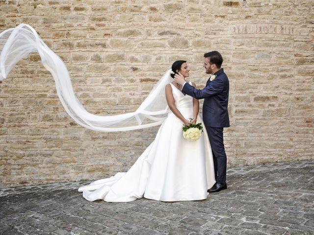Il matrimonio di Cecilia e Eugenio a Mergo, Ancona 68